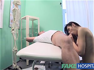 FakeHospital sloppy doctor ravages thief and creampies her