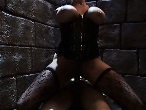 Evil princess Stormy Daniels humps the killer prince