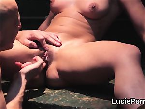 unexperienced sapphic nymphs get their jummy beavers ate and boned