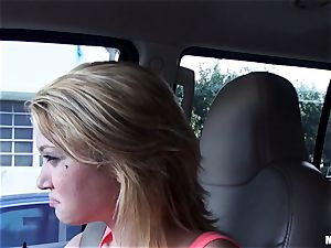 Kota Skye gets a creamy facial after a pick up