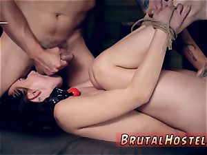 extreme porn and unexperienced rough rigid ass-fuck hottest pals Aidra Fox and Kharlie Stone are