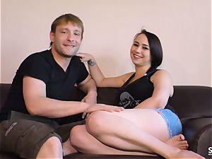 SEXTAPE GERMANY - ultra-kinky newcummer German duo boinks pov