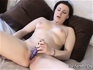 bodacious stunner with unshaved mouth-watering wet beaver vibes Her jewel