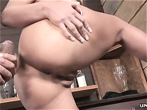 Phoenix doing it all to satisfy her man with her cunt