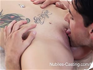 Nubiles audition - creampie cutie wants to be a superstar