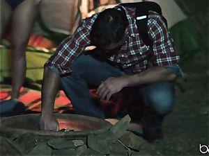 scorching camping weenie dickblower Whitney Wright