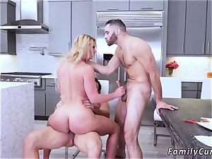 parent ally s daughter anal invasion Army boy Meets huge-chested Stepmom