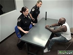enormous black man-meat bra-stuffers mummy Cops