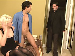 Courtney Taylor is a super-sexy super-steamy boss