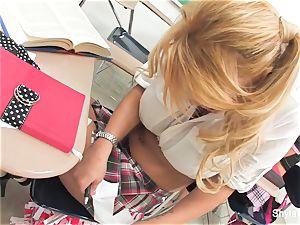Bad student Shyla gets pummeled by her professor