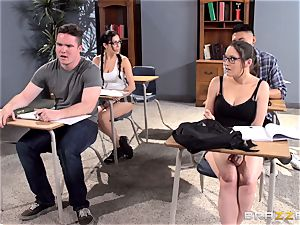 big-titted educator Ava Addams is pulverized by her student