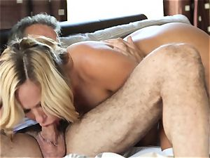 super-hot blond wife Olivia Austin The Key Sn four