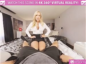 VRBangers.com-MILF is tucking a electro-hitachi in her gash
