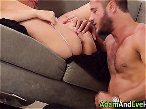 splendid duo Mia Malkova and Danny Mountain penetrating