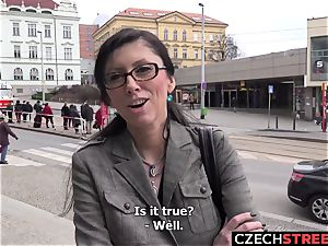 Czech mummy secretary Pickup up and ravaged