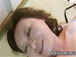 Akemi Seo - puckered beaver JAV Oldie Having rough lovemaking